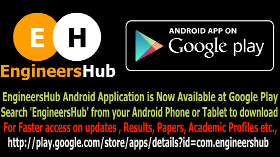 EngineersHub - JNTU Hyderabad Results & updates