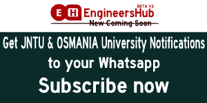 Get JNTU and Osmania Updates and Result Notification to Whatsapp - EngineersHub